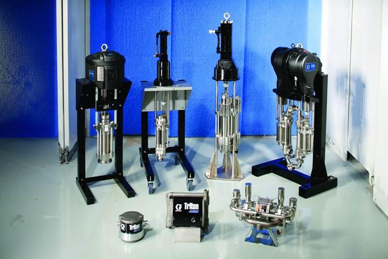 Bombas neumáticas, hidráulicas y eléctricas diseñadas para una variedad de mercados