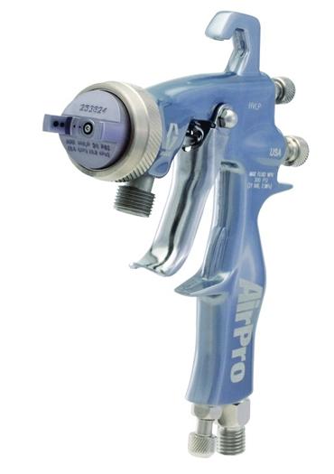 Pistolas de pulverización de aire, manuales y automáticas, para aplicaciones de adhesión automotriz, de metal, de madera, a base de agua y de alta resistencia al desgaste