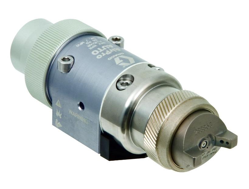 Pistolas de pulverización HVLP automáticas, convencionales y que cumplen con las normas Modelos de pistola automáticos, HVLP y convencionales para aplicaciones de metal, madera y de alta resistencia al desgaste
